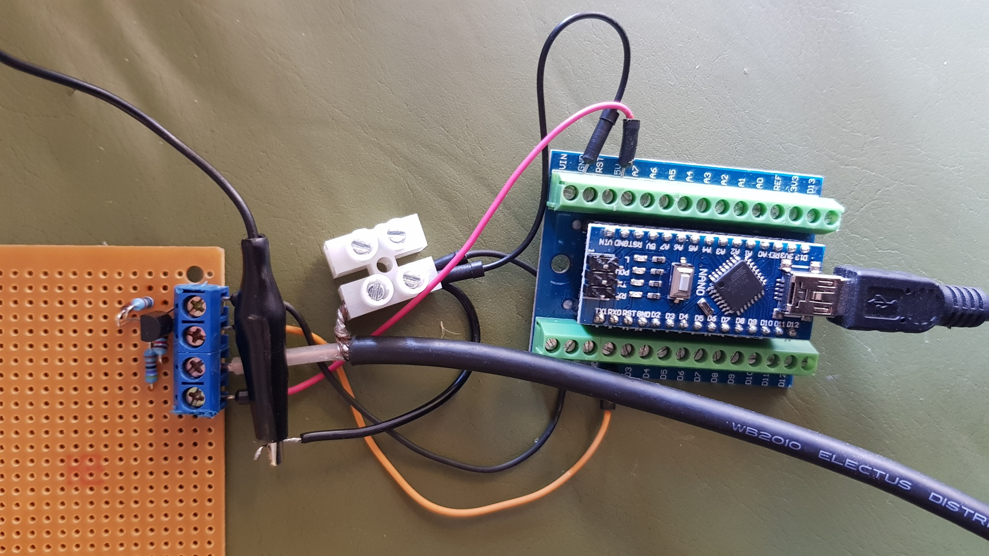 Allegrobotics - Measuring RPM via spark plug lead